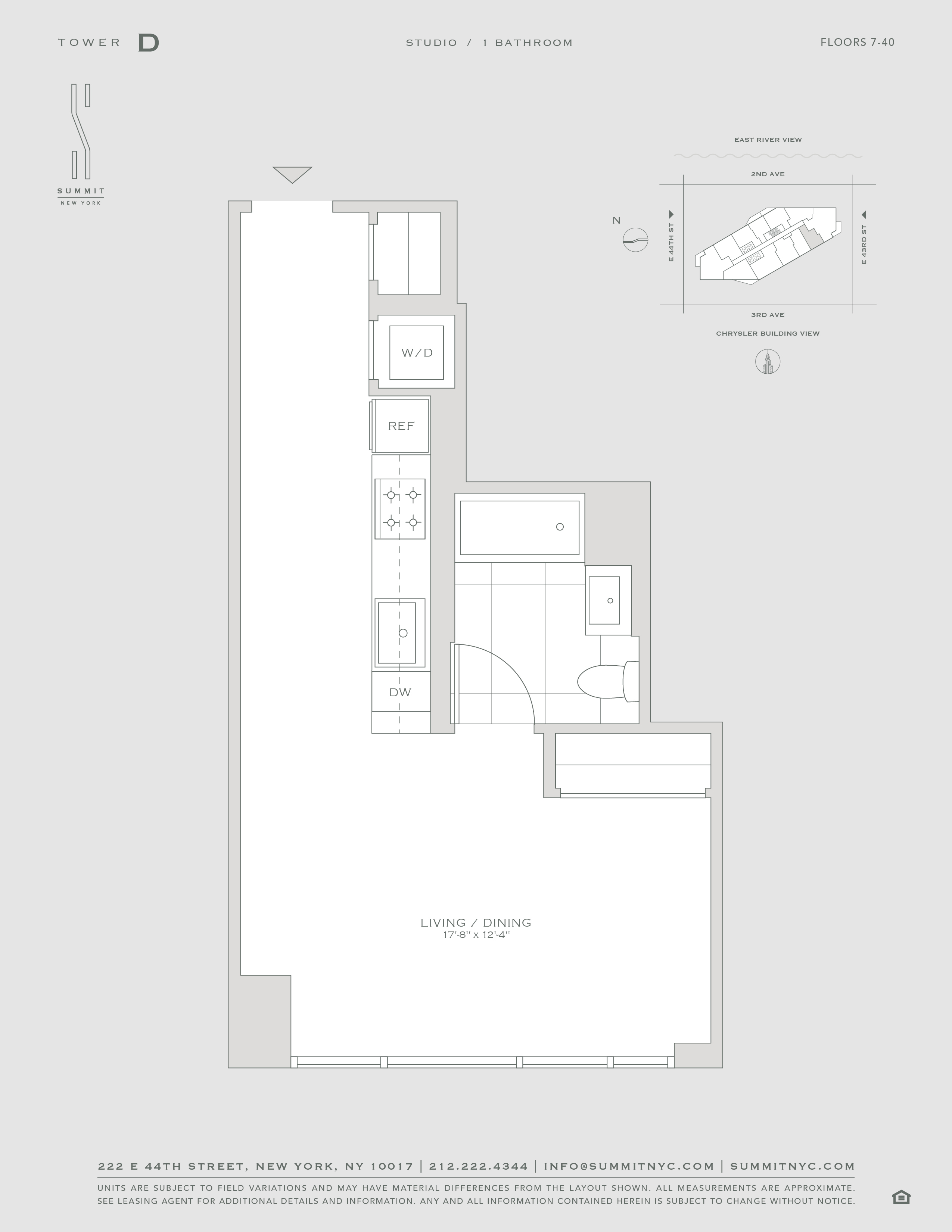Availability Midtown East Apartments Summit New York,3 Bedroom Apartment Floor Plans With Dimensions